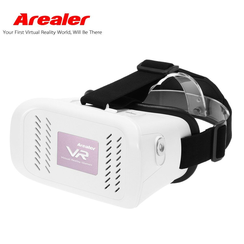 Arealer Vr Virtual Reality Glasses Headset 3d Vr Box Movie Game