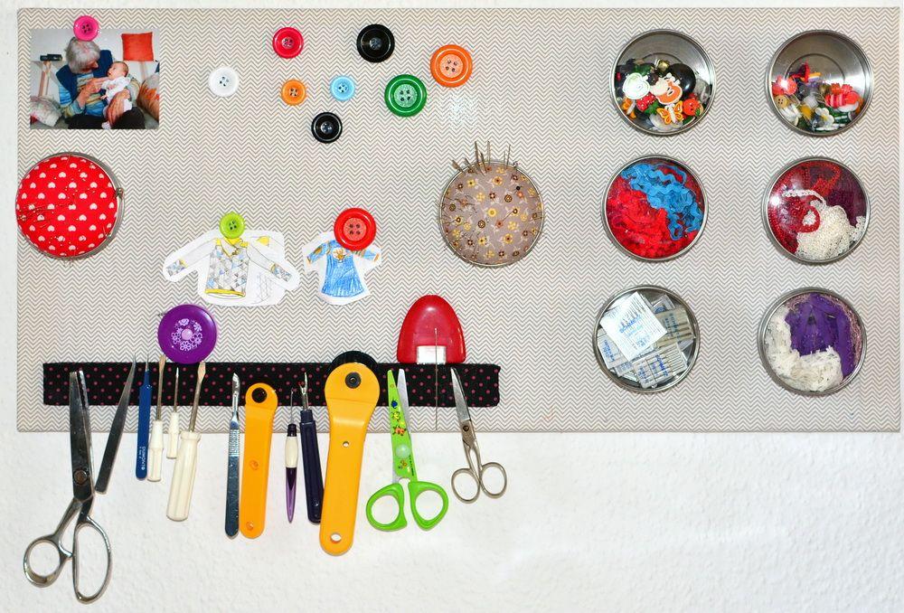 Magnetwand und knopfmagneten diy ikea hack n hzimmer n hen n hzimmer und rund ums n hen - Magnetwand ikea ...