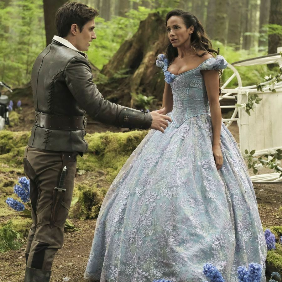 Andrew West And Dania Ramirez As Adult Henry Mills And A New