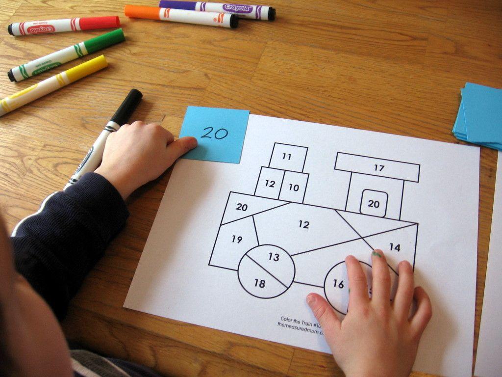 10 Preschool Math Activities The Letter T