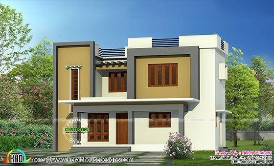 Exceptional Simple Flat Roof Home Architecture