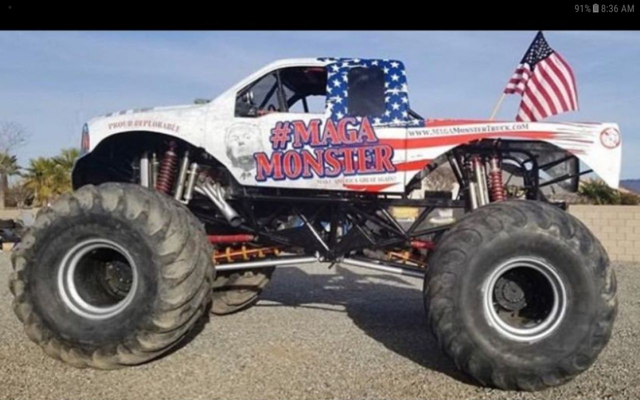 Maga Monster Monster Trucks Maga Trucks