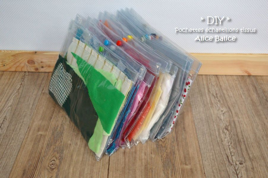 pochettes plastiques pour chutes de tissu chute de tissu. Black Bedroom Furniture Sets. Home Design Ideas