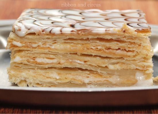Napoleon cake a.k.a Mille-feuille
