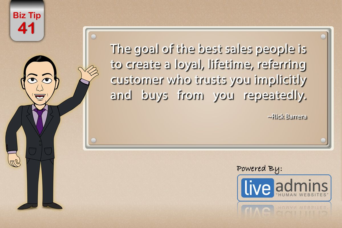 Goal Of The Best Sales People  Supercsr Customerservice