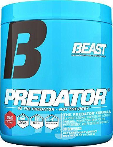 Predator Pre Workout : predator, workout, Beast, Sports, Nutrition, Predator, Workout,, Lemonade,, Ounce, Creatine,, Creatine, Supplement,