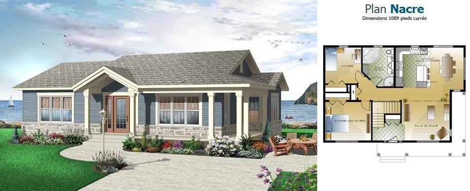Plans de maisons exclusifs Les Habitations Mont-Carleton HMC maisons