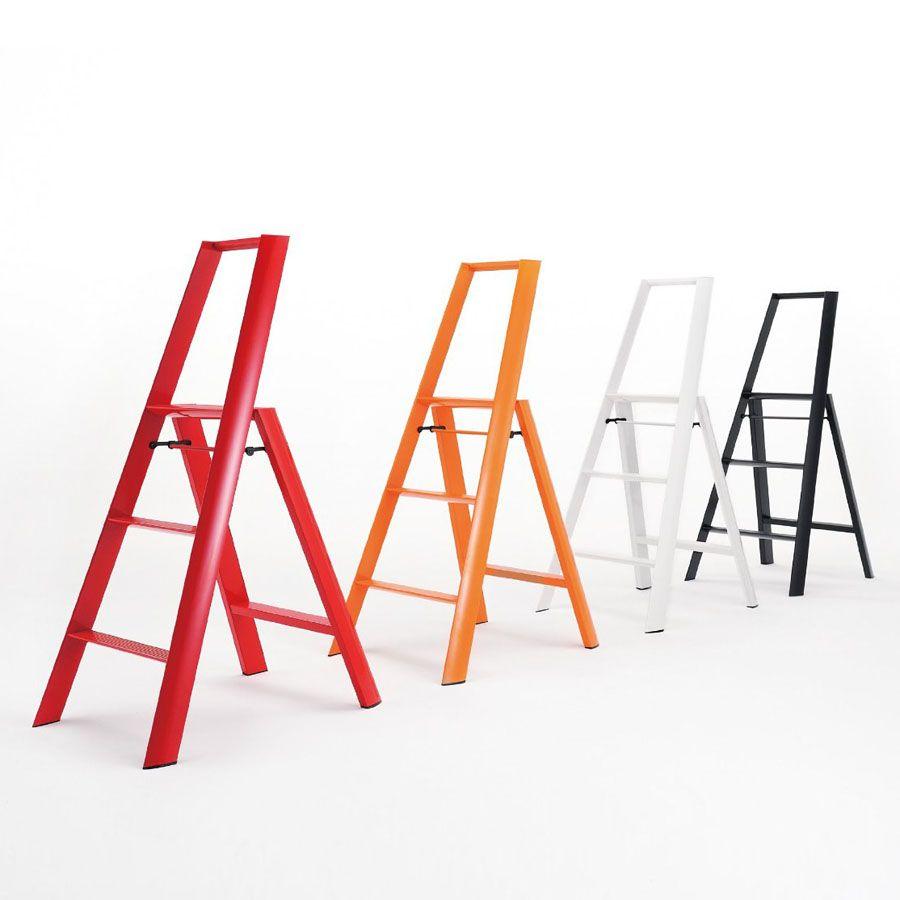 LightWeight™ Folding 3-Step Aluminum Step Stool