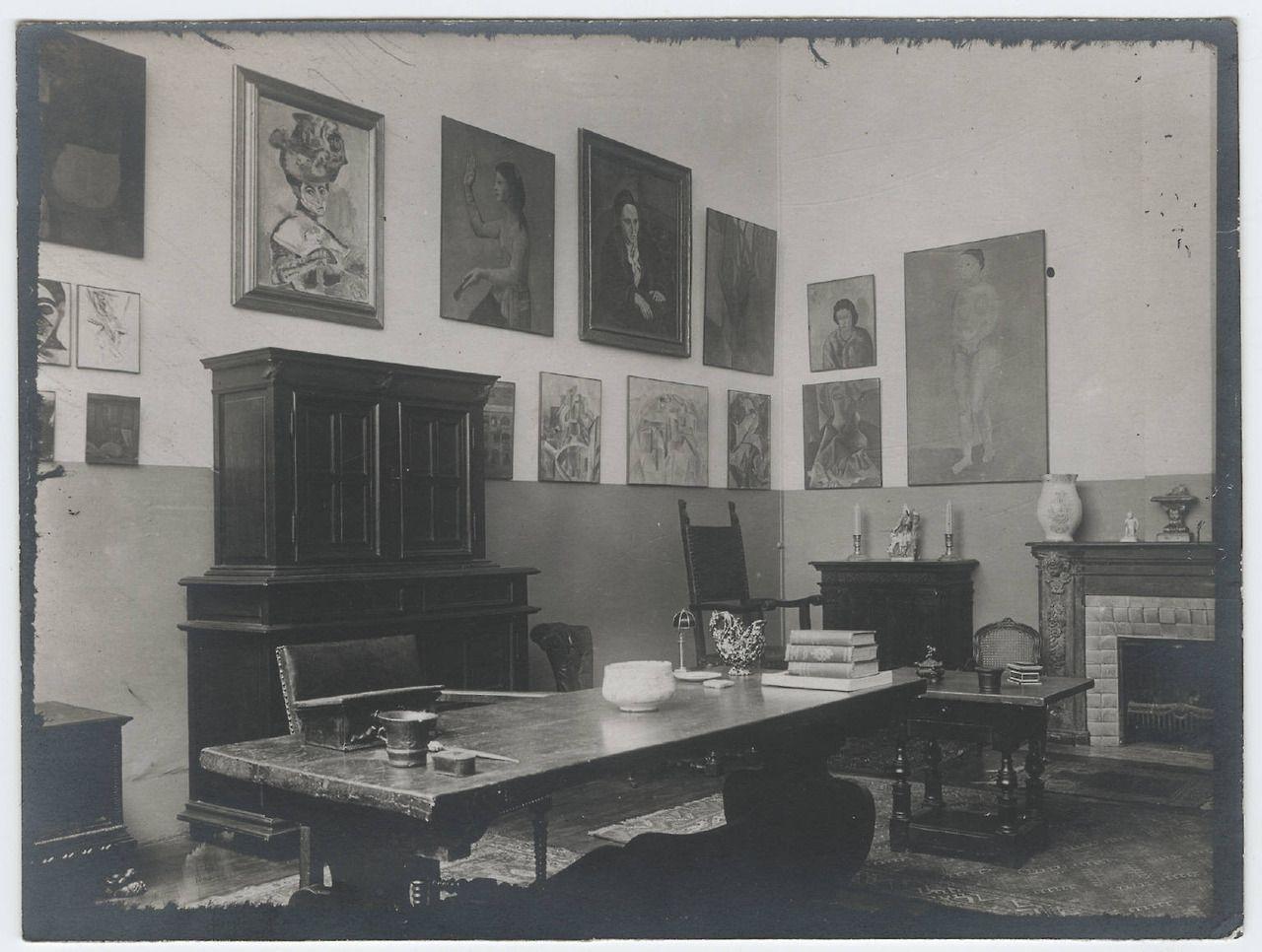 Gertrude Stein Apartment 27 Rue De Fleurus Paris 1920 Places 1920s Vintage