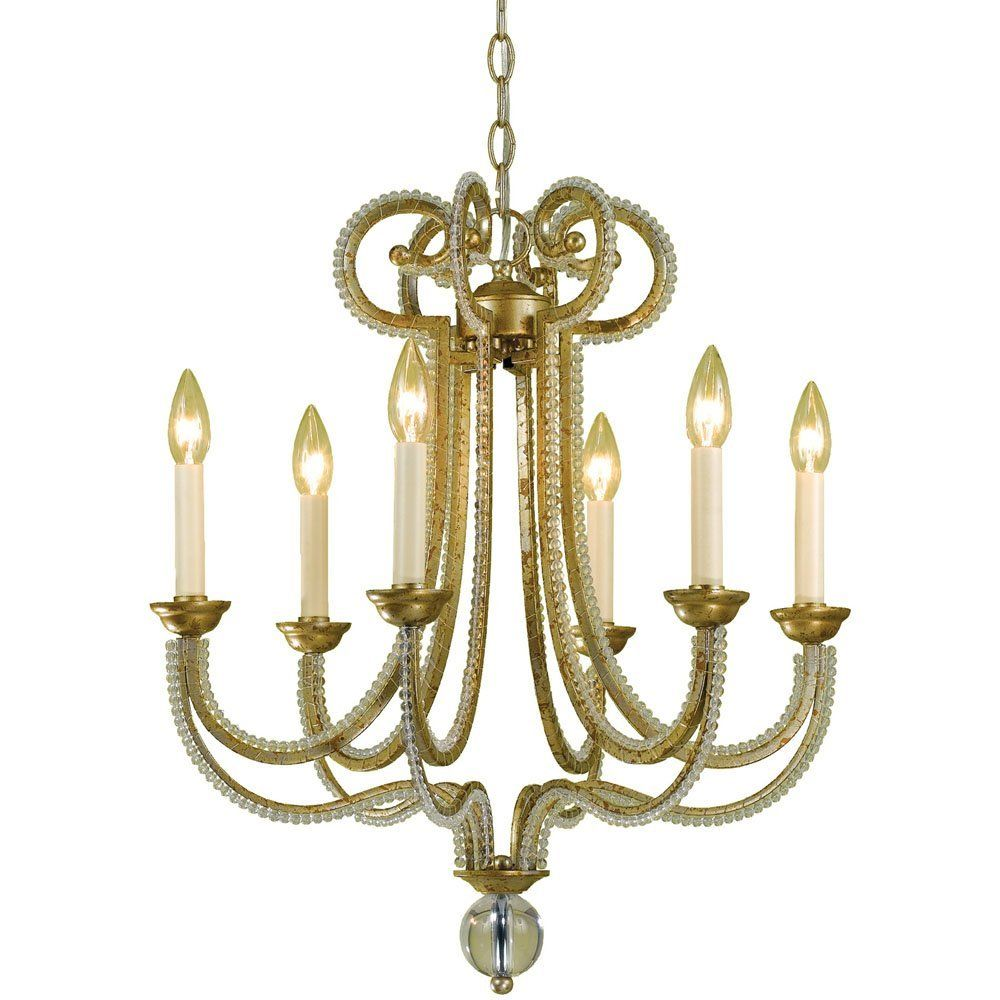 Antique Glass Golden Chandelier > $337.95 Unique Design, Six ...:Antique Glass Golden Chandelier > $337.95 Unique Design, Six Lights -  http://,Lighting