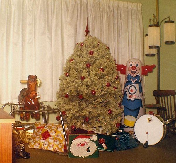 Bozo Bop Bag Vintage Christmas Christmas Ephemera Vintage Christmas Tree