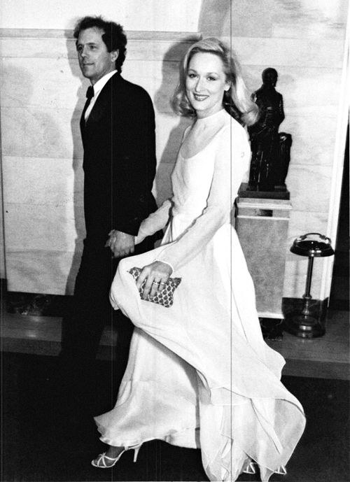 Meryl Streep with her husband Don Gummer at the 35th Annual Tony Awards