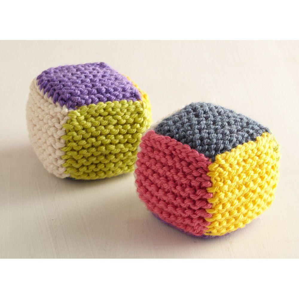 Baby Blocks in Lion Brand Hometown USA - L10597 | Knitting ...