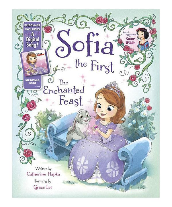 Look at this Sofia the First 'The Enchanted Feast' Hardcover on #zulily today!