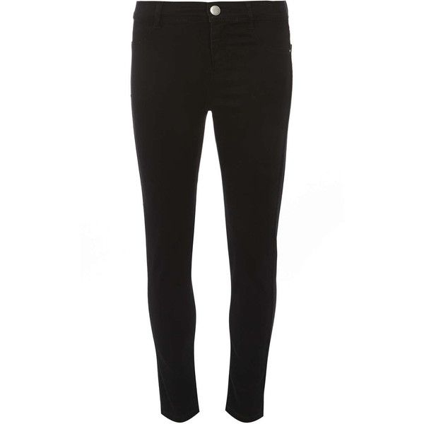 Dorothy Perkins petite black 'Frankie' Ultra soft Jeggings ($28) ❤ liked on Polyvore featuring pants, leggings, black, petite, petite cotton pants, cotton trousers, petite denim leggings, petite leggings and petite jeggings