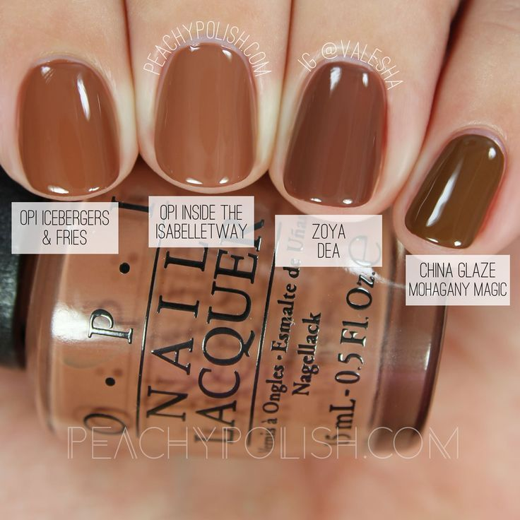 Pin by ~ Ray ~ on Nails | Nails, Brown Nails, Nail polish ...