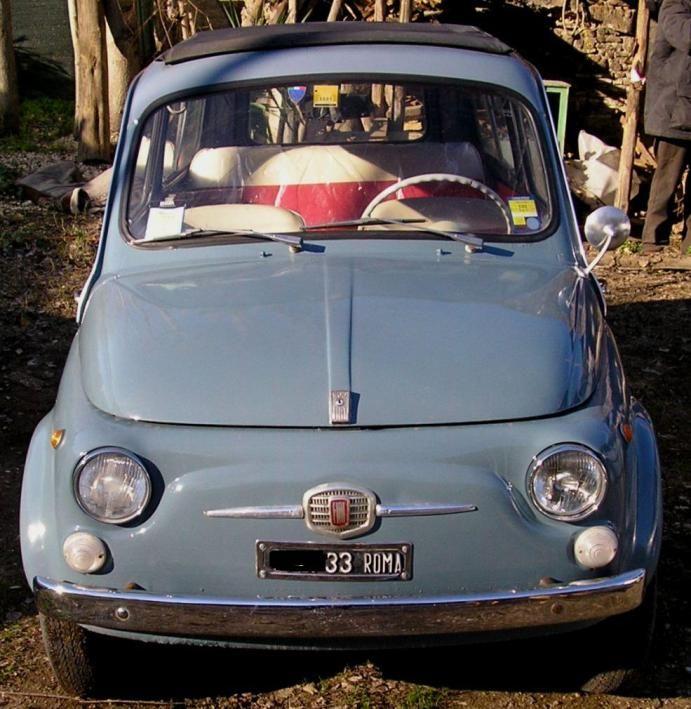 Vendo Fiat 500 Giardiniera 1965 43995 Su Fiat 500 Colore Blu