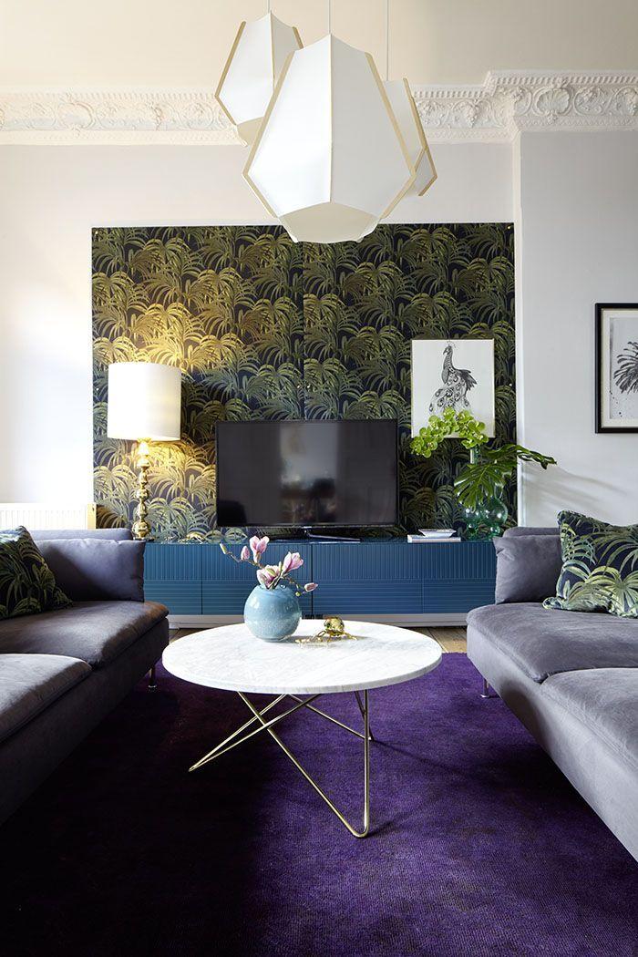 Heute Unser neues Wohnzimmer Oder Wie man einen Riesenfernseher - wohnzimmer design gemutlich