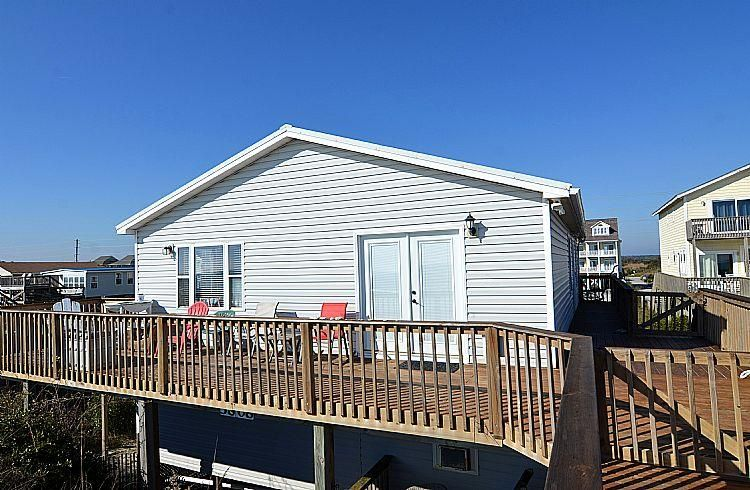 North Topsail Beach House With 4 Bedrooms Flipkey Topsail Beach North Topsail Beach Beach House