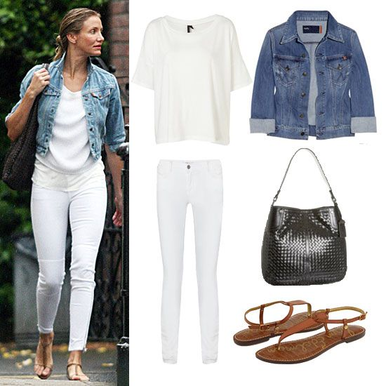 White Jeans: Casual | How to wear | Pinterest | .tyxgb76aj