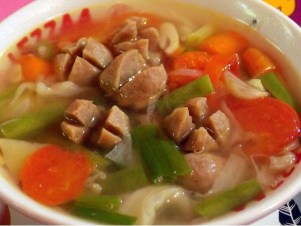Resep Sop Bakso Gurih Enak Di 2020 Masakan Sup Bakso Sup Daging