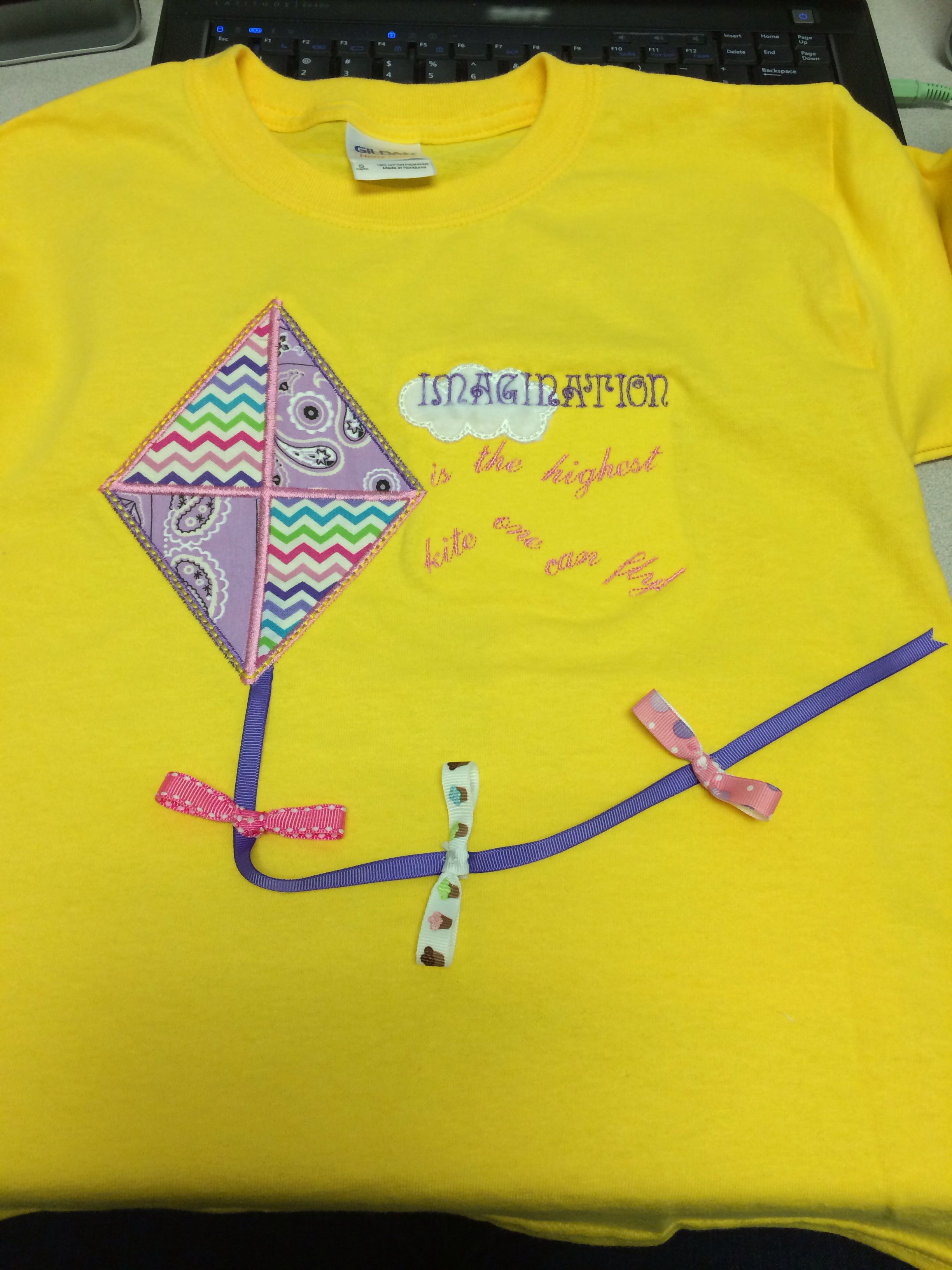 Kite Shirt For My Little Girl