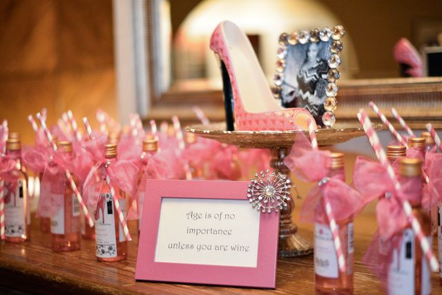 High Heels 40th Birthday Party Ideas Photo 1 Of 21