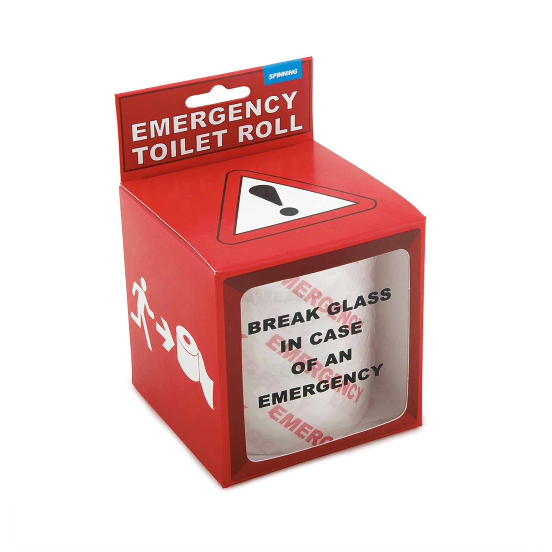 Emergency Toilet Roll Toilet Roll