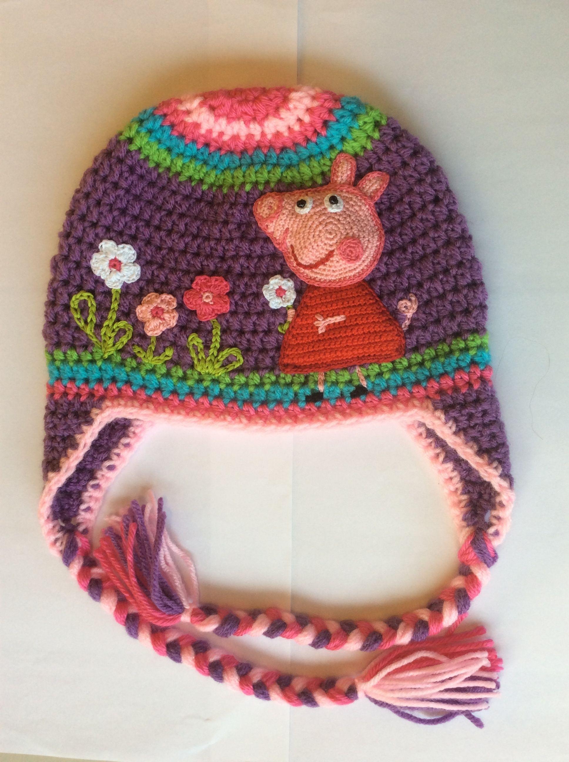 Pin von Cordoneria Camila auf Gorro crochet niña | Pinterest | Mütze ...