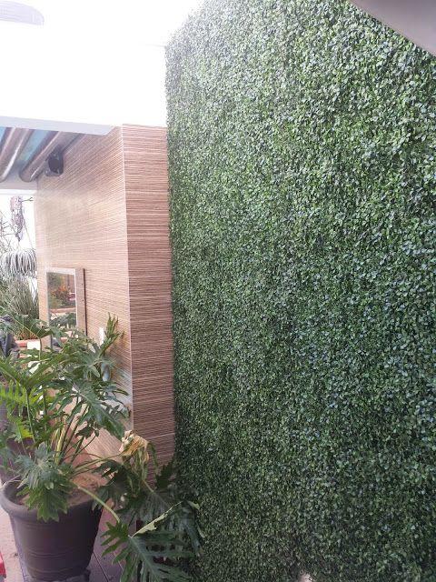 Follaje artificial en culiacan jardines verticales for Plantas decorativas artificiales df
