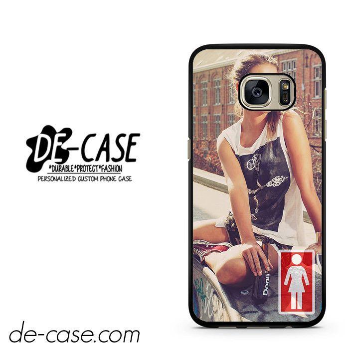 Girl Skateboard Girl DEAL-4689 Samsung Phonecase Cover For Samsung Galaxy S7 / S7 Edge
