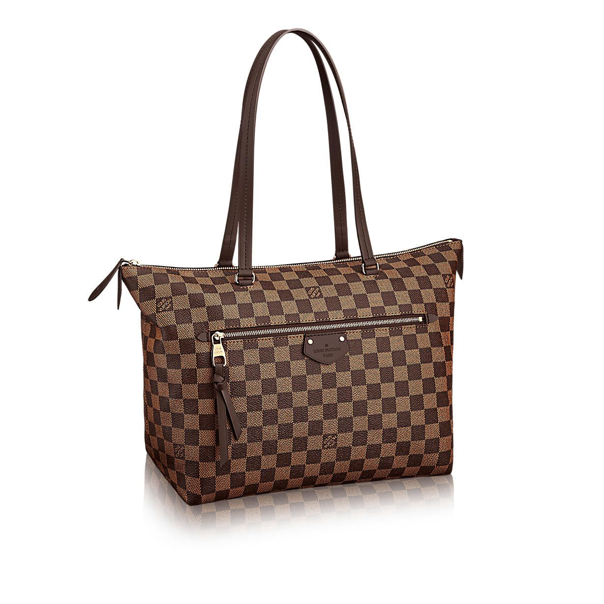 e46083cf1dd9 Iena MM Damier Ebene Canvas in WOMEN s HANDBAGS collections by Louis Vuitton