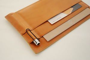 leather note book holder I specifiedstore.com