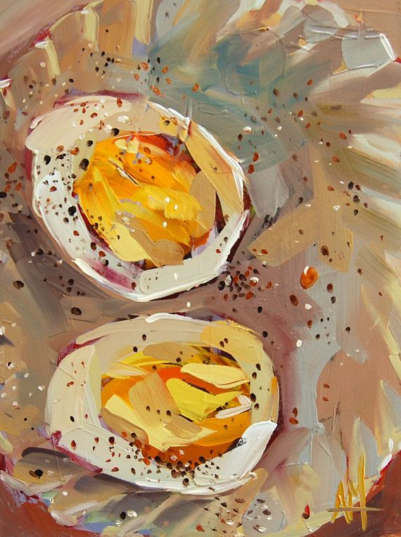 Hard boiled egg with cracked pepper original still life food oil hard boiled egg with cracked pepper original still life food oil painting by angela moulton 8 x 6 inch on panel prattcreekart ccuart Gallery