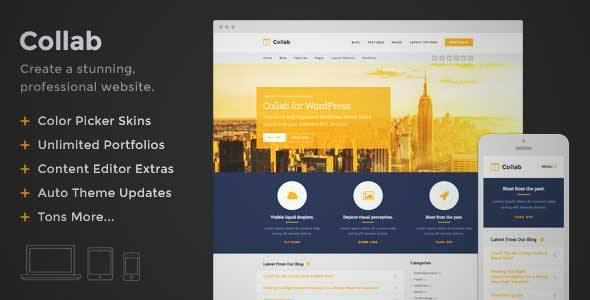 Download and review of Collab - Create a Beautiful Website with ...