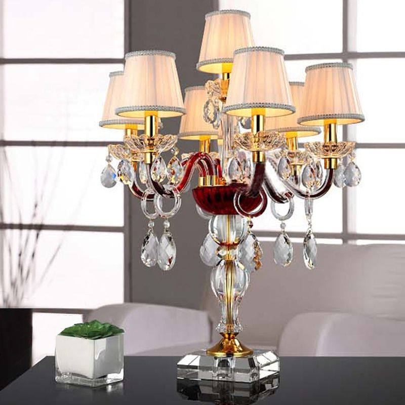 Cheap Table Flowers For Weddings, Buy Quality Light Box Light Therapy  Directly From China Light Effects Suppliers: Table Purple Crystal  Candlestick Light ...