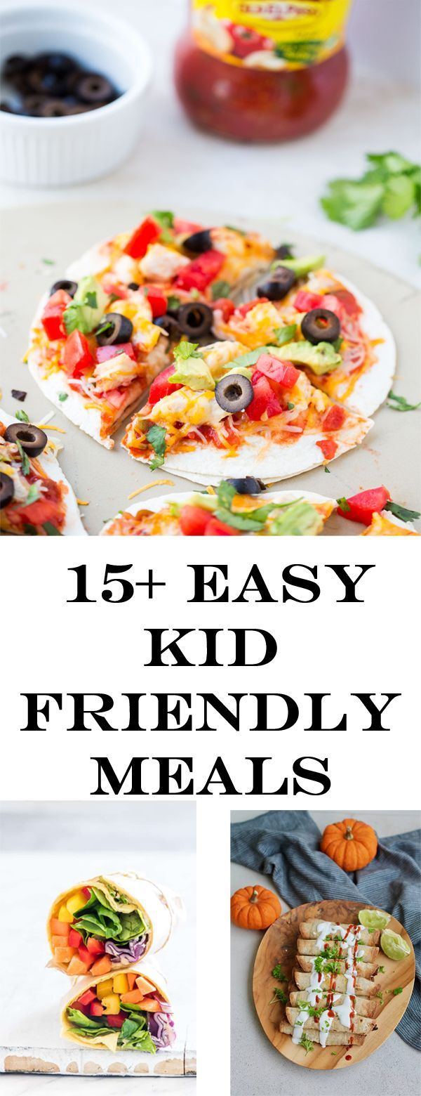 Easy Kid Friendly Dinners images