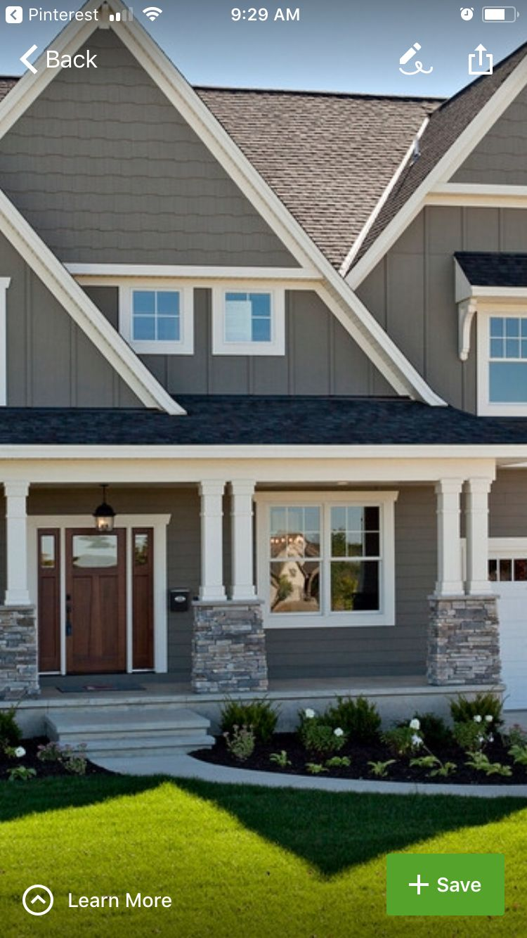 Exterior paint with white trim in 2019 exterior paint - White exterior paint color schemes ...