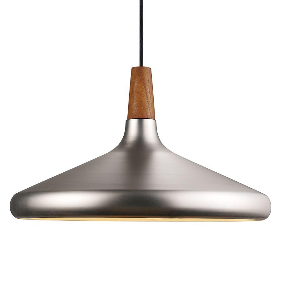 Pendelleuchte Float 39 | Metall, Silber und Wohn esszimmer