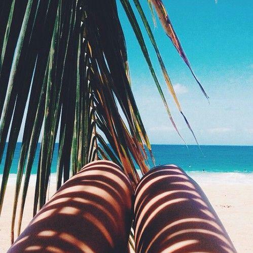 Shadow-Palmtree-Sea-Ocean-Beach-Legs-Tan-Summer-Shiwi
