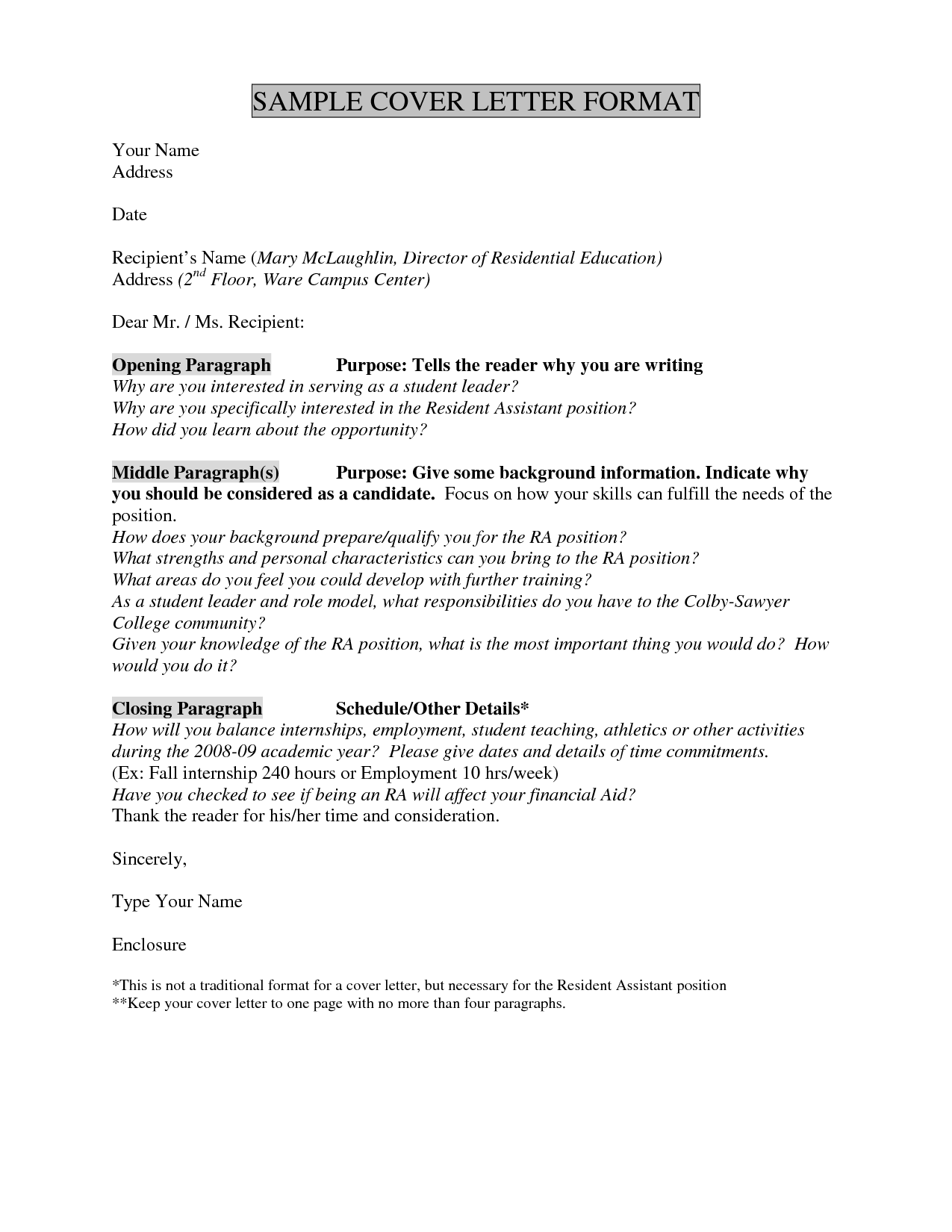 Cover Letter Dont Know Name from i.pinimg.com