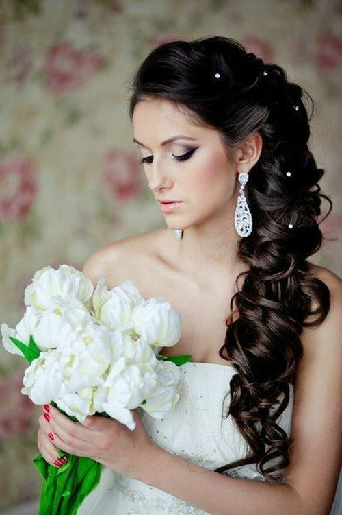 coiffure mariage cheveux longs wedding idea pinterest. Black Bedroom Furniture Sets. Home Design Ideas