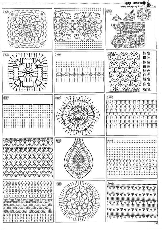 blog DD: crochet patterns | MANDALA CROCHET GRANNYS | Pinterest ...