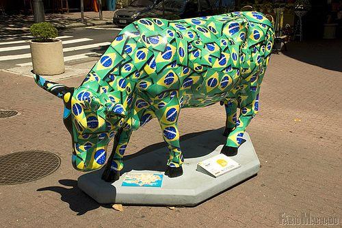 Cow Parade Rio De Janeiro Pesquisa Google Cow Parade Cow Skin Paint