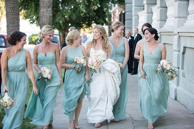 These bridesmaids look fabulous! We had so much fun at Elizabeth + Scott's Wedding!!! Coordinators: Mac & B. Events Photographer: Dana Cubbage Weddings