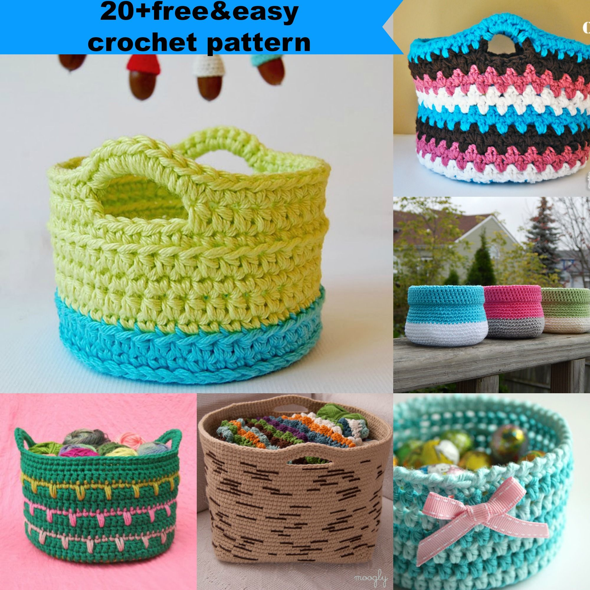 20+free&easy crochet pattern by jennyandteddy | Proyectos que ...