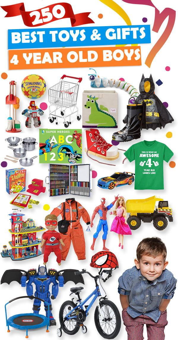Best Gifts And Toys For 4 Year Old Boys 2018 | Gifts for Asher ...