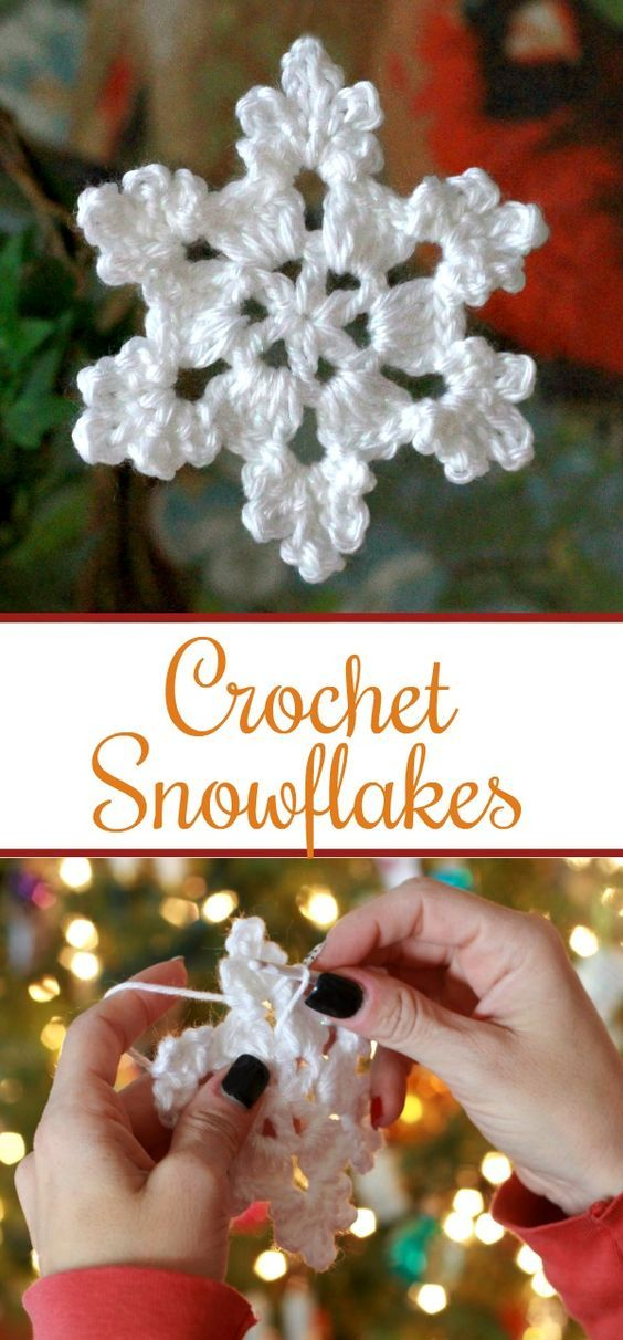 Crochet Snowflake Crochet Snowflakes Ornament And Window