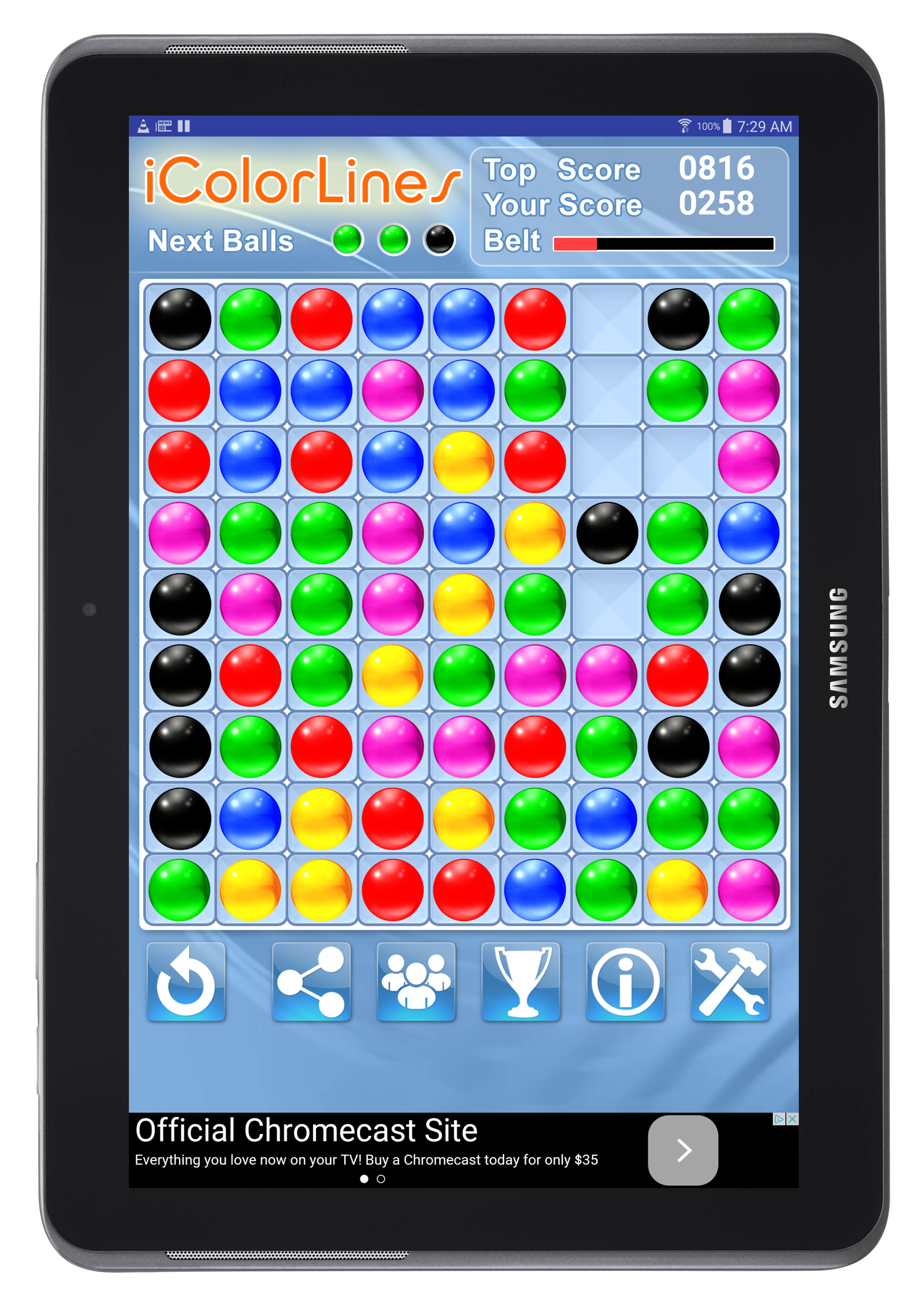 Color lines game free download Line game, Color lines