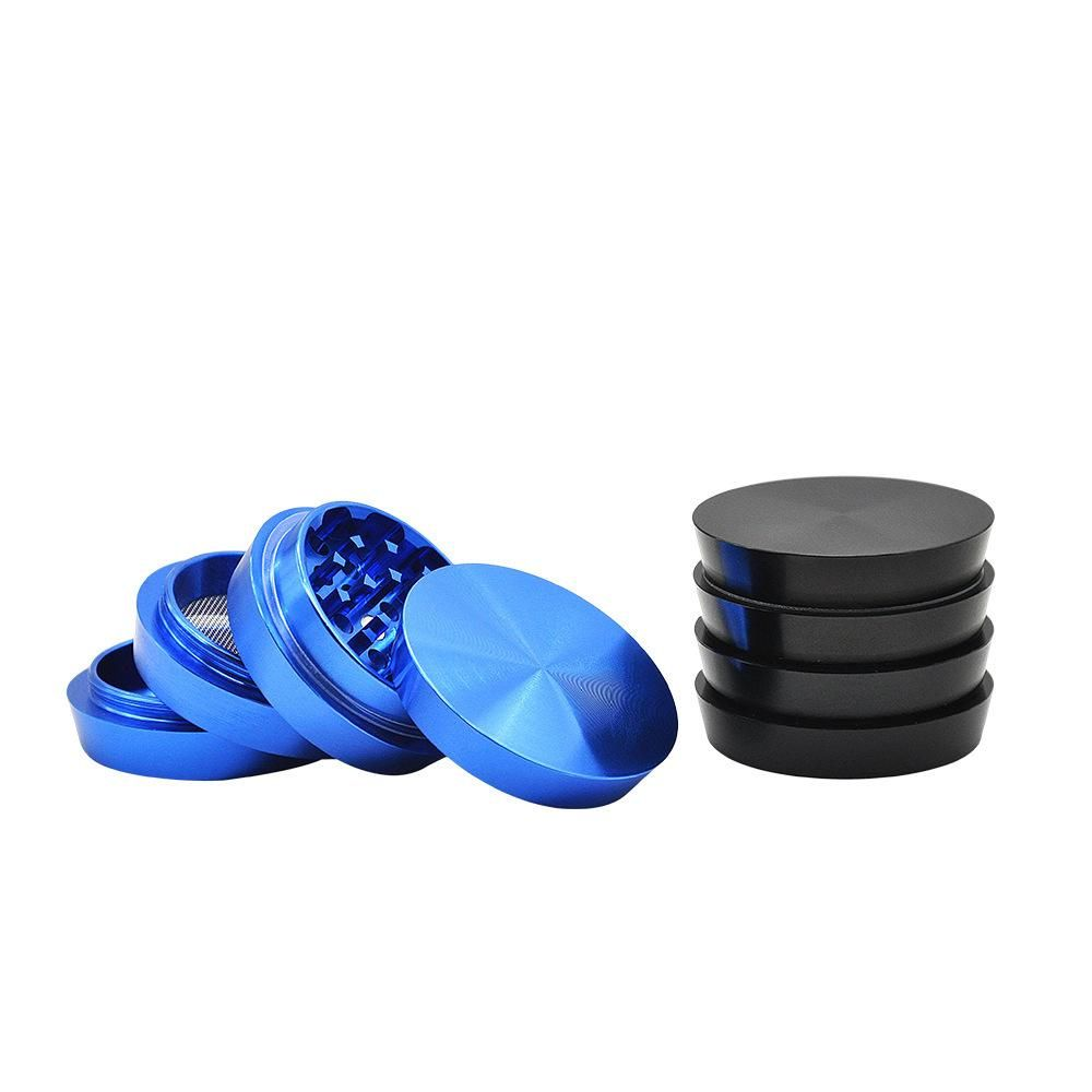 Tower Of Power Novelty Herb Grinder Aluminium 4 Layer 50mm 3 Color Herb Grinder Bong Accessories Novelty
